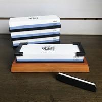 Whetstone1000 3000 Kitchen Knife Sharpener Stone Professional Japanese Sharpening Stone For All Knives White Corundum Waterstone
