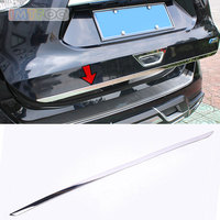 CAR TRUNK BOOT DOOR TRIM STRIP EXTERIOR STICKER FIT FOR NISSAN X TRAIL T32 XTRAIL ROGUE 2016 2017 2018 ACCESSORIES CAR STYLING