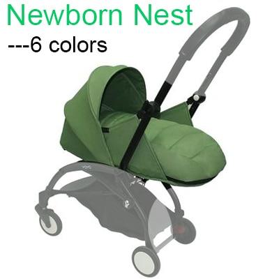 Acessórios newborn ninho cesta de dormir para Babyzen yoyo Carrinho de bebê