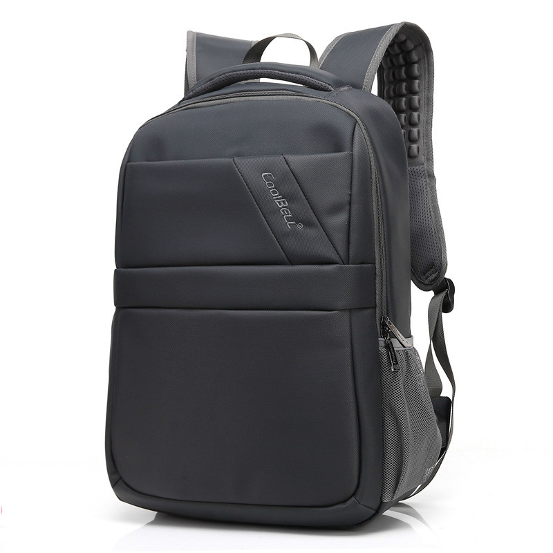 Cool Bell Laptop Backpack 15.6 Inch Computer Bag Waterproof Notebook Backpack Women Men Nylon Laptop Bags 15.6 lowepro protactic 450 aw backpack rain professional slr for two cameras bag shoulder camera bag dslr 15 inch laptop