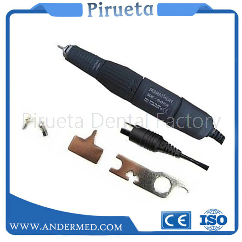 Dental Marathon Lab Electric Micromotor Motor Handpiece for Polishing 45K RPM dental laboratory material
