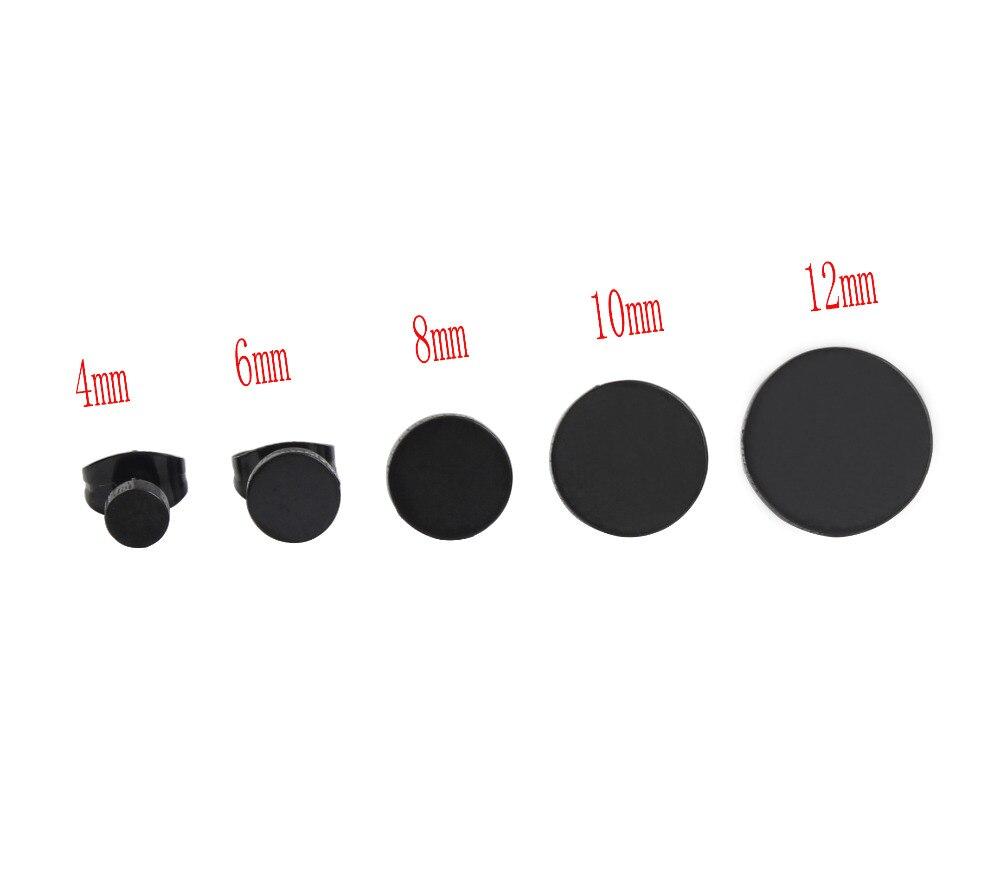 Venta caliente mujeres de moda hombres punk barbell negro hebillas - Bisutería - foto 6