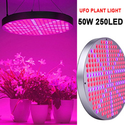 O wysokiej jasności Panel świetlny wzrostu roślin światło dla roślina cieplarniana pełne spektrum dla lampa do roślin domowych hydroponicznych w Lampy do hodowli roślin od Lampy i oświetlenie na