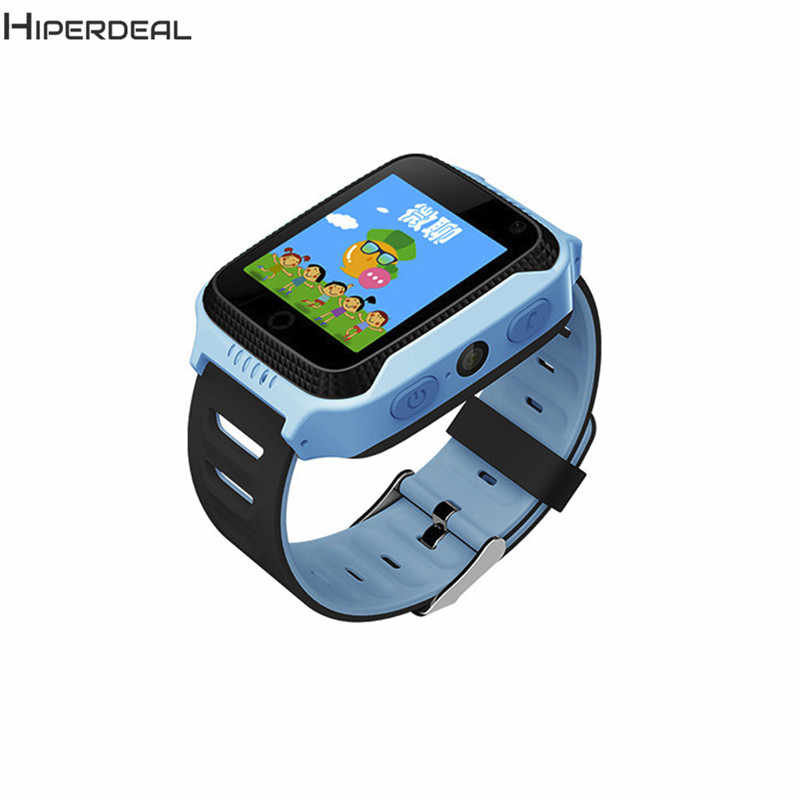 Smart Watch For Children Baby 2017 GPS Watch Phone Fitness Tracker For Girls Kids Sim 0.3MP Camera SOS OLED Touch 7.17