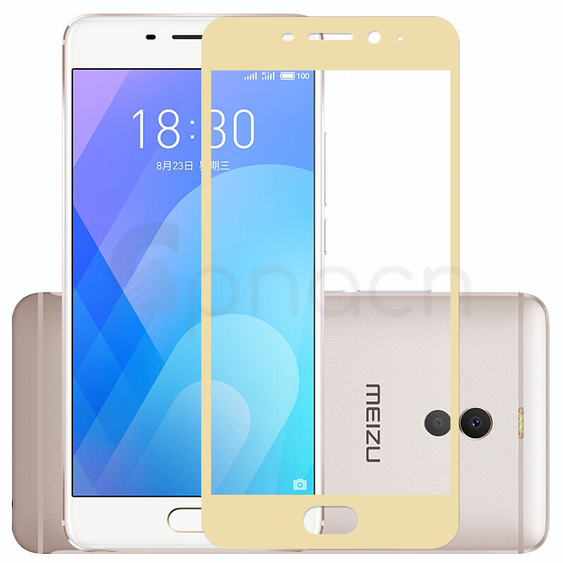 3D Full Cover Tempered Glass on the For Meizu M5 M5S M5C M6 M6S M3 M5 M6 Note M3 M3S M6T Pro 6 7 Plus Screen Protector Film case
