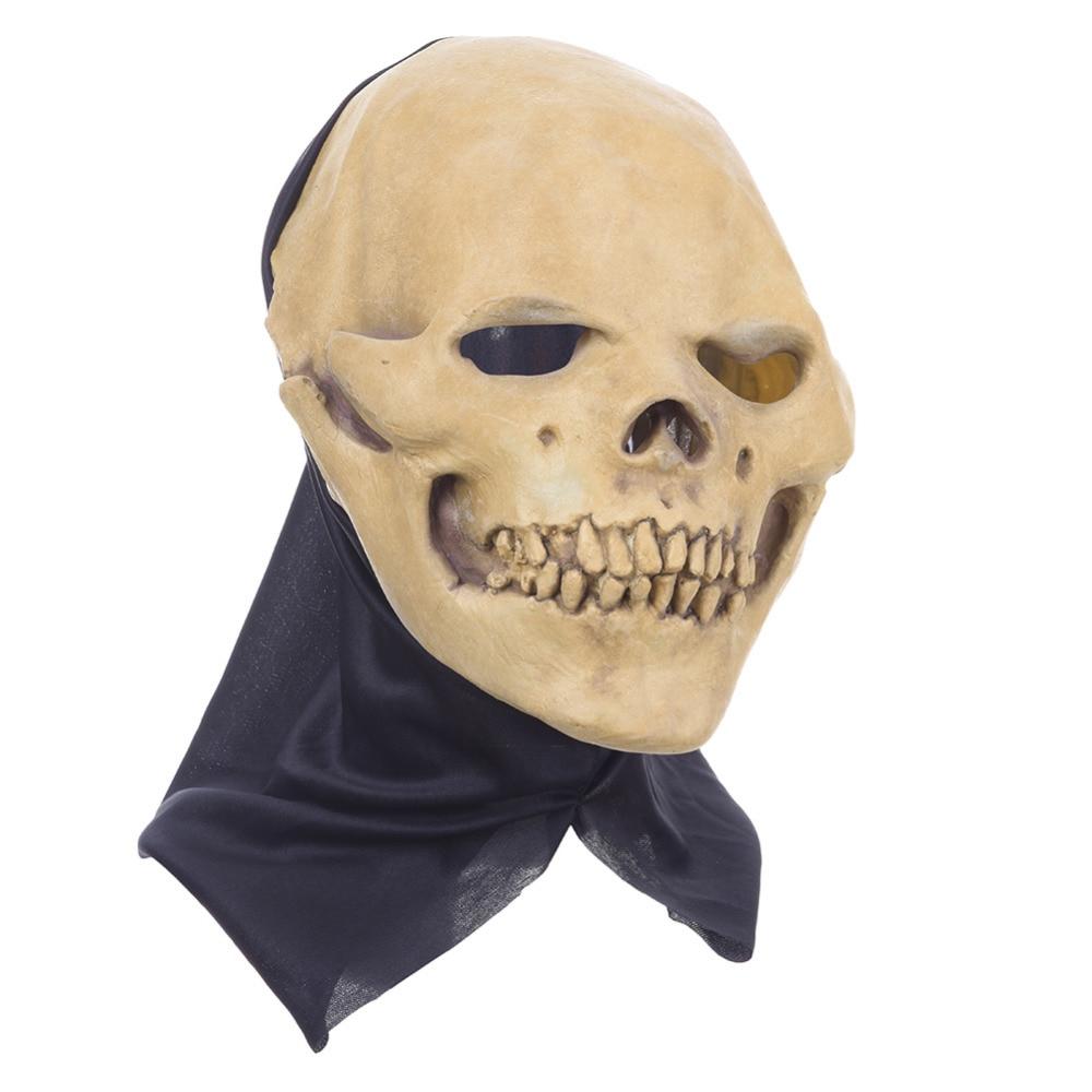 Aliexpress.com : Buy Latex Skull Mask Halloween Masquerade Adult ...