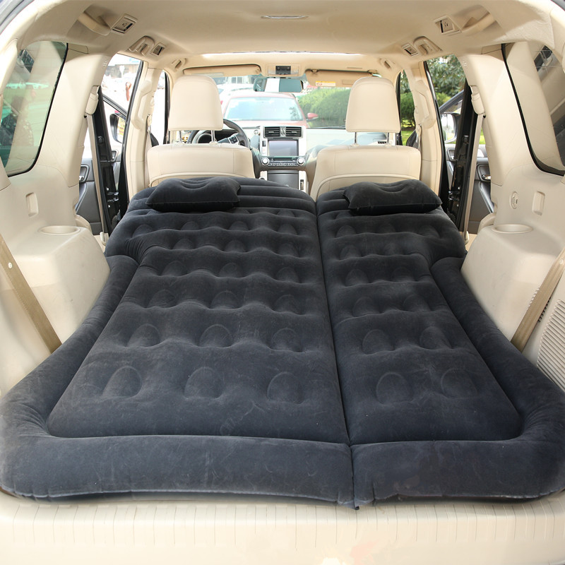 Car inflatable bed 180 * 130cm Travel car mattress