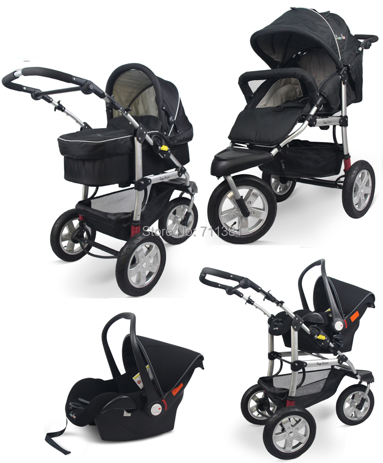 3 In 1 Baby Stroller Car Seat - Seat