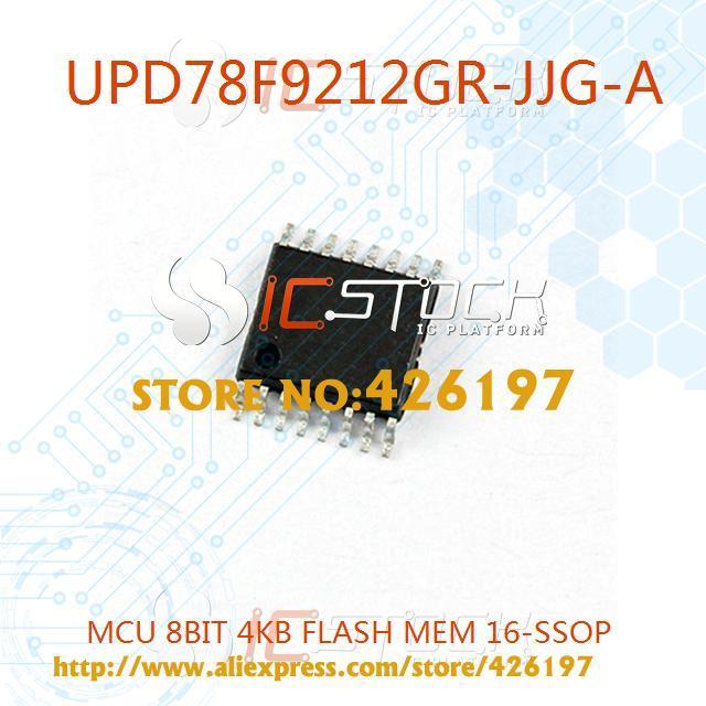 3PCS UPD78F9212GR-JJG-A IC MCU 8BIT 4KB FLASH 16SSOP Renesas