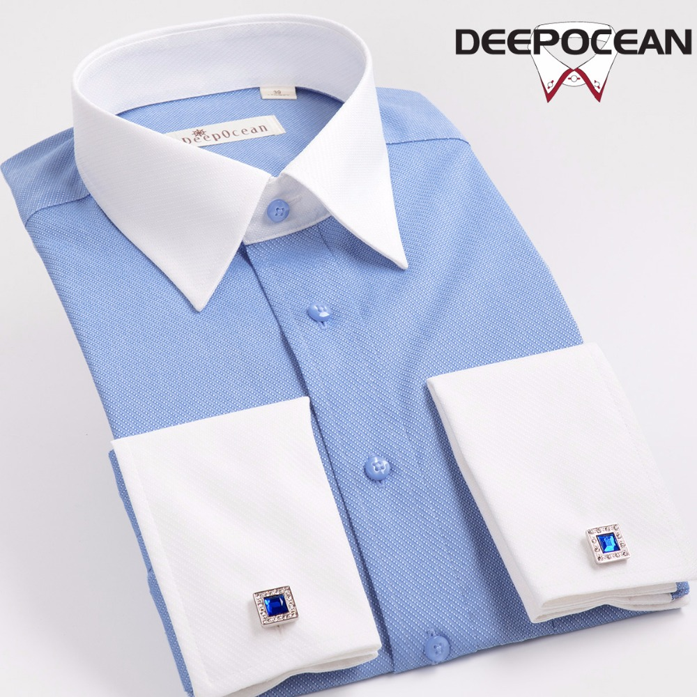 Novo Algodão Camisas Dos Homens Da Forma Dos Homens Camisa Ocasional Sólida Camisa de Manga Longa dos homens Novos Plus Size Slim Fit Camisa De Hombre XB535L
