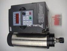 CNC frässpindel ER16 1.5KW luftkühlung spindel + 1.5KW VFD wechselrichter + cnc engravin bits
