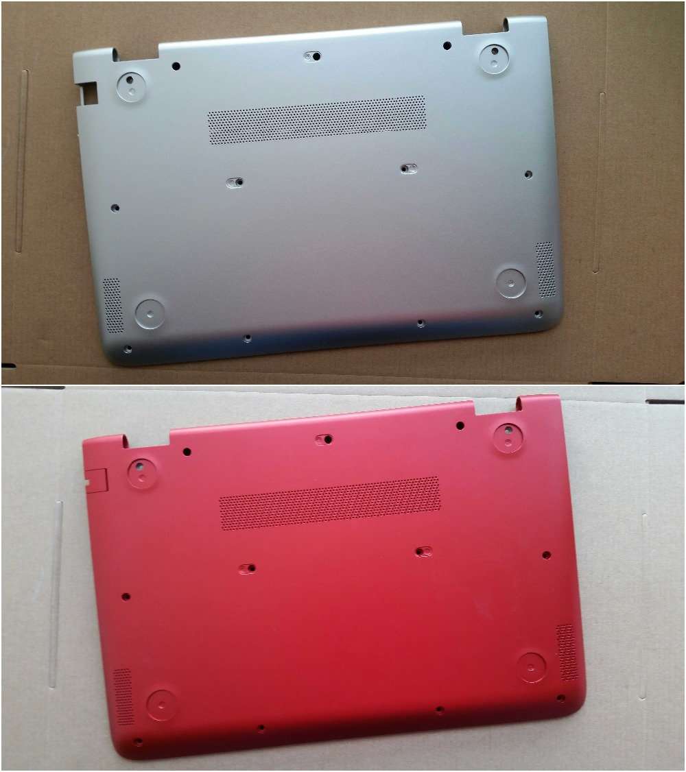 New Original for HP Pavilion X360 13-S S020nr 13-s060sa 13-s067nr 13-s154sa Bottom Case Base Cover Silver Red 809820-001 new original for hp pavilion 15 e000 palmrest