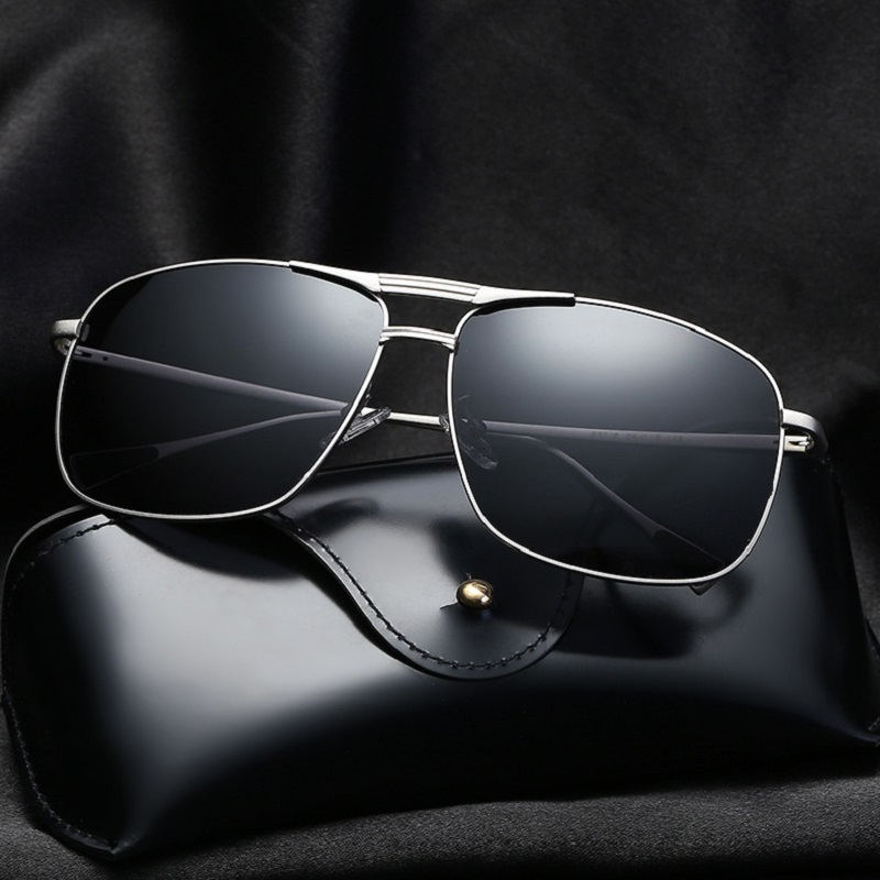 width-146 new polarized sunglasses mens personality male fashion hipster driving mirror goggle eyewear