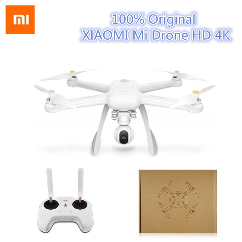 Xiao mi Drone inglés App WIFI FPV 4 K Cámara RC Quadcopter Drone 3 eje GimbalHelicopter vídeo HD remoto de grabación
