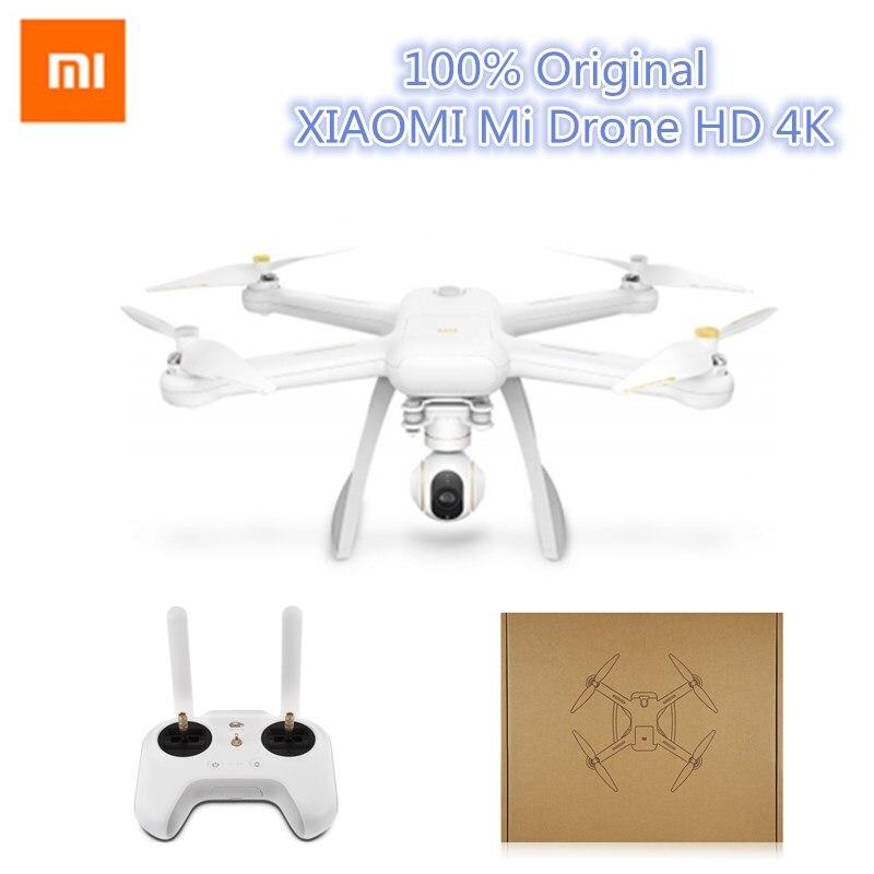 Xiaomi Mi Drone Anglais App WIFI FPV 4 K Caméra RC Quadcopter Drone 3-Axis GimbalHelicopter HD Enregistrement Vidéo À Distance