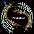 Maximumcatch нейлон Fly Рыбалка линии Плетеный петля разъем 30/50LB 17 см лидер Петли 10 шт. многоцветные - фото