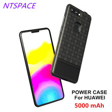 5000mAh Portable Power Bank For Huawei Enjoy 8/8 Plus Backup Battery Charge Case 7S Pack back Clip