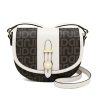 Women HandBags Luxury PVC Crossbody Bag Large Purse Clutch Female Fashion Perfume Bag Round Shoulder Bag College Flap sac a main