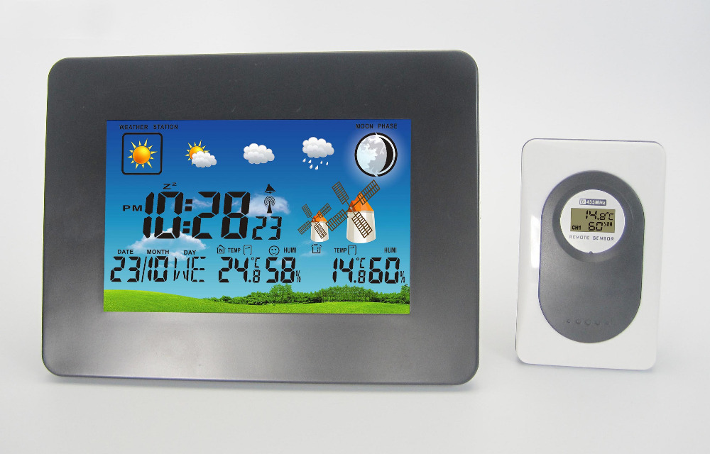 Smart Gear Wireless Weather Station Indoor And Outdoor