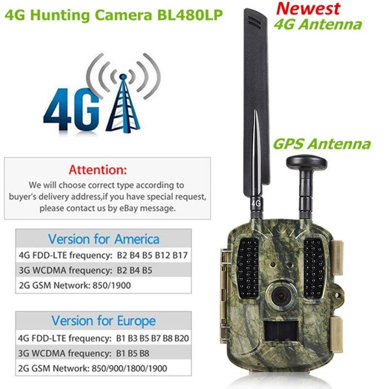 4g Scout Guard Caccia della Macchina Fotografica di GPS 940nm Infrarosso No Flash 12MP HD 1080 p MMS GPRS Night Vision Photo trappole Sentiero di Gioco Fotocamera Selvaggio