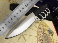 9Cr18M0V CNC blade G10 handle hight quality straight knifeTactical EDC Tool outdoor camping survival exploration pocket knife