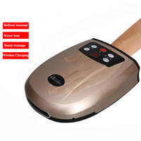 Palm Hand Massagers Rechargeable Heat Air Pressure Acupressure Massage for Fingers Coldness Strain and Numbness Relief