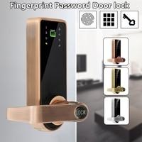 NEW Safurance Smart Code Door Fingerprint Lock Keypad Card Home Security Access Control Electric Lock