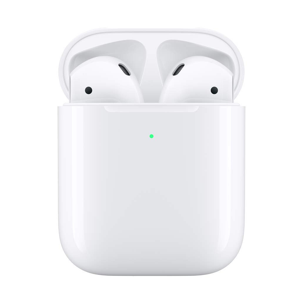 For Apple Airpods 1/2th Headphones Fast Wireless Charging Charger Cover Case Box Replacement title=