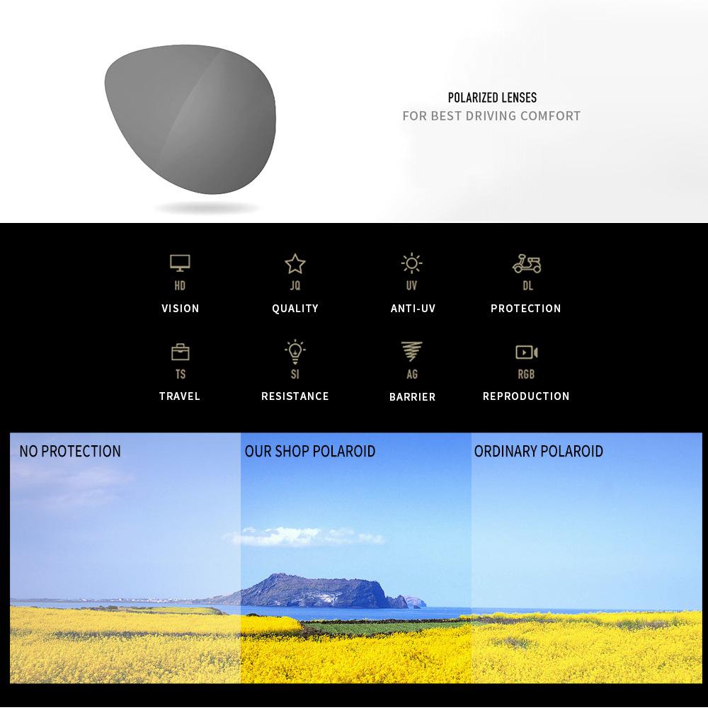 DJXFZLO Gafas de sol polarizadas 2