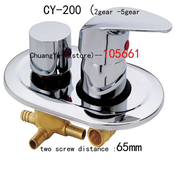 Copper shower room faucet shower room mixing valve shower cabin , shower room accessories