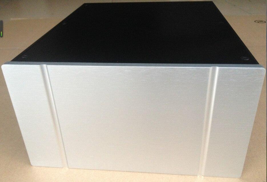 ФОТО QM DIY power supply case, all aluminum chassis, DIY power chassis, aluminum amplifier enclosure 250*135*308