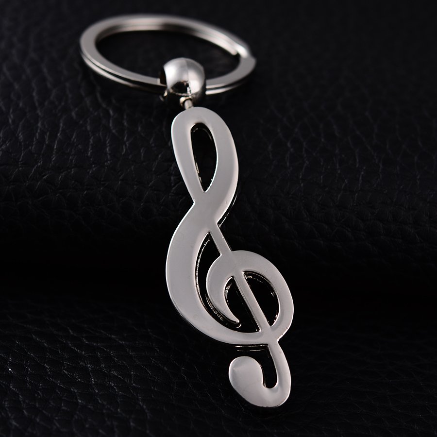 Musical instruments Styling Keychain Portachiavi Charm Music Alloy Car Key Rings Holder porte clef Novelty Jewelry Gift J001