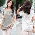 Primavera verão T camisas de moda de nova mulheres marca solto Tops Batwing manga curta camisetas Plus Size T - shirt sml XL XXL 9467