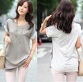 Spring Summer T Shirts  New Fashion  Women Brand  Loose Tops Short  Batwing Sleeve T Shirts Plus Size T-shirt S M L XL XXL 9467