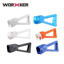WORKER Toy Sniper Mod Shoulder Stock Replacement Toy Gun Tailstock for Nerf N-Strike Elite For AK Easy Installation Gun Parts