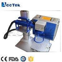 10w 20w 30w portable mini fiber laser marking machine/colour laser marking machine price