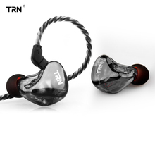 TRN X6 headphones 6BA Driver Unit Earphone 6 Balanced Armature HIFI Monitor Stage Sports Running Resolution IEM Detachable 2Pin
