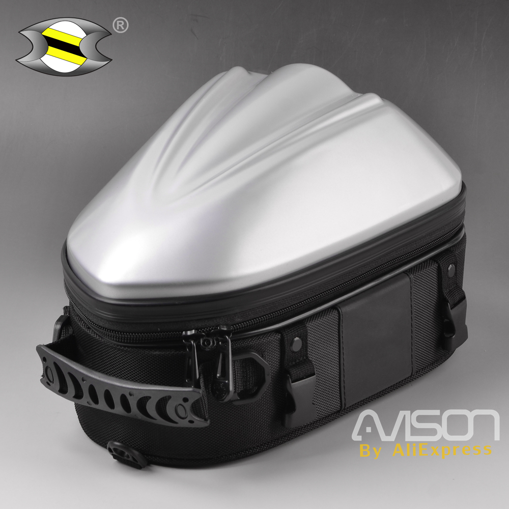 Motorcycle Tail Bags Motorbike Hard-Shell Seat Bag Package Back Seat Bags Fit For Honda BMW Ducati Triumph Et Moto Universal все цены
