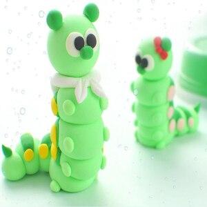 Image 4 - Arcilla de modelado de polímero suave, 24 colores, con herramientas, buen paquete, juguetes especiales, arcilla polimérica, DIY Playdough