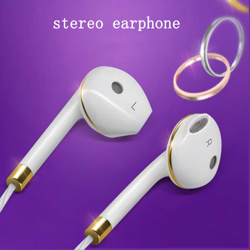 Desxz Earphones In-Ear Stereo Bass Headset Portable with Microphone for Samsung xiaomi iPhone Phone Headset earphones headset earphones laptop bass earphones headset belt microphone