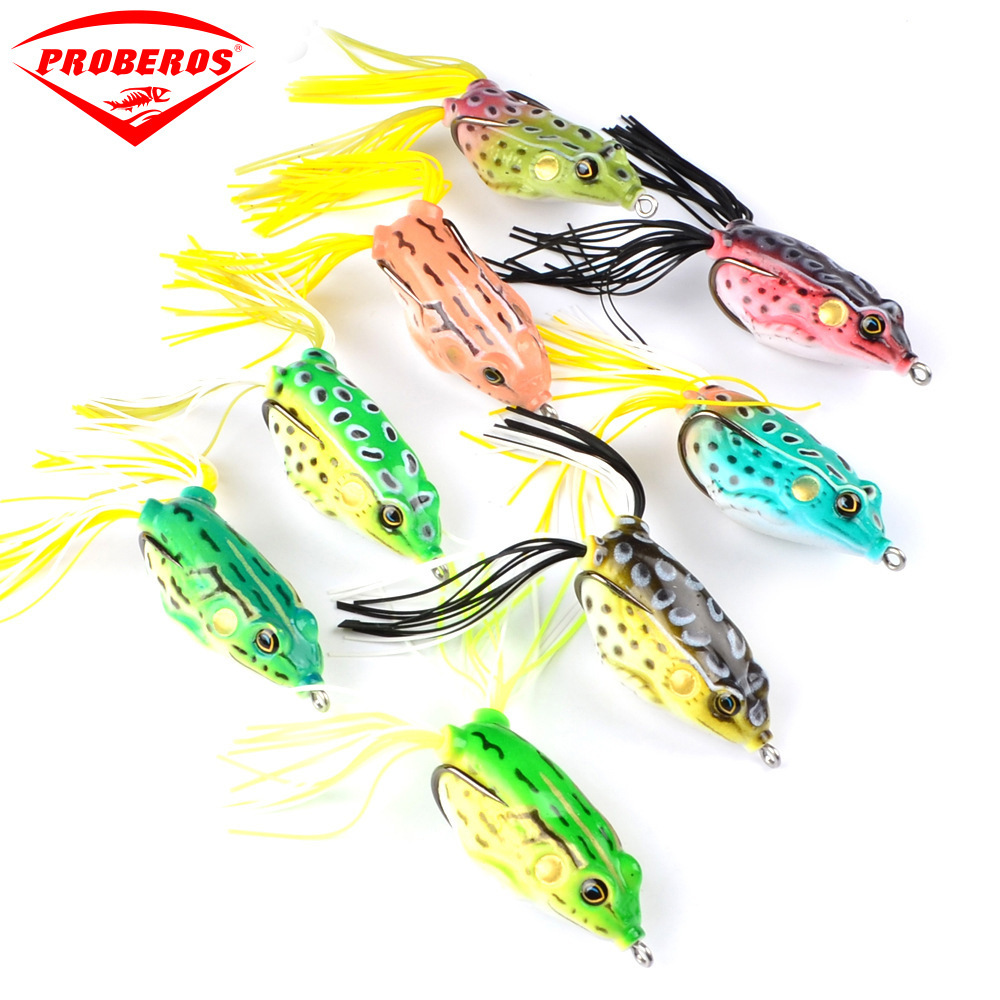 Top-water Rubber Silicone Frog Lure 60mm 13.5g Soft Jump Frog Bait With Hook For Carp Wobblers Artificial Baits Float Weedless curado 200hgk