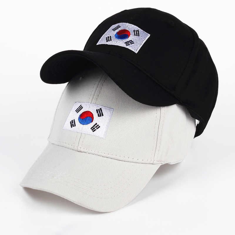 1b574b8e5da VORON Korean Flag Baseball Caps Men Classic New Cotton truck driver Hat  Women Casual Summer Sunhats