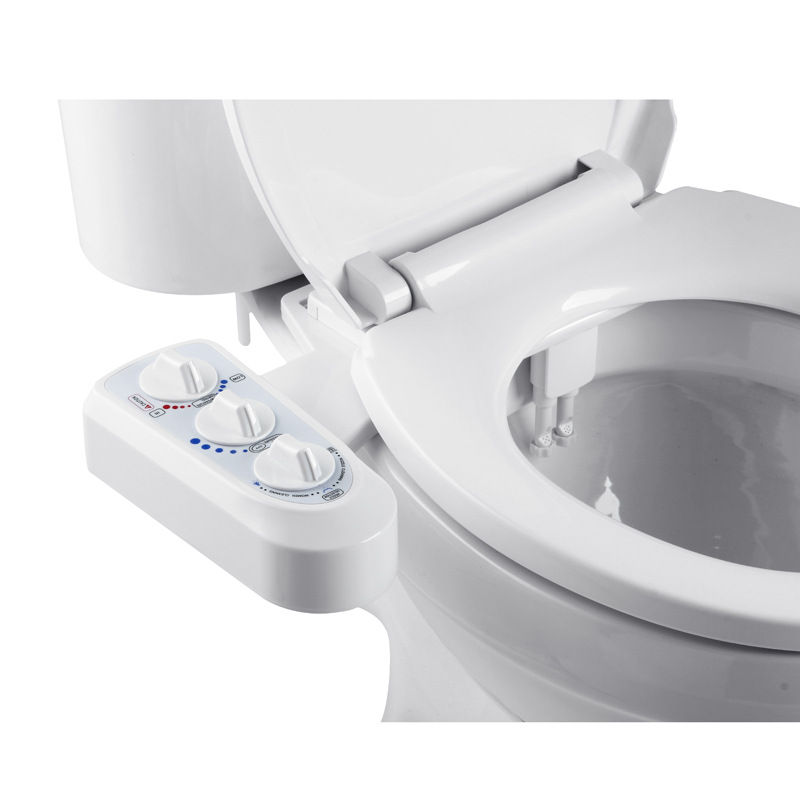 Non-Electric Bidet Attachment Toilet Bidet Seat Self-Cleaning Nozzle-Fresh Water Bidet Sprayer Mechanical Shattaf Washing