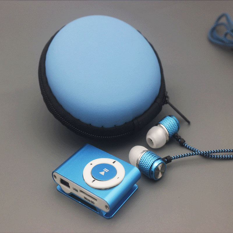 NEW Sports  Mini USB Clip MP3 Music  Player  With Earphone Cable Bag