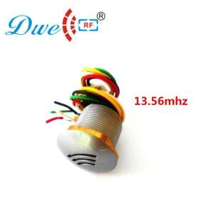 Image 5 - 13.56mhz ISO1443A 12V mf reader wiegand 26 บิตการ์ด proximity mini rfid reader 10pcs F08 หมวดหมู่ฟรี