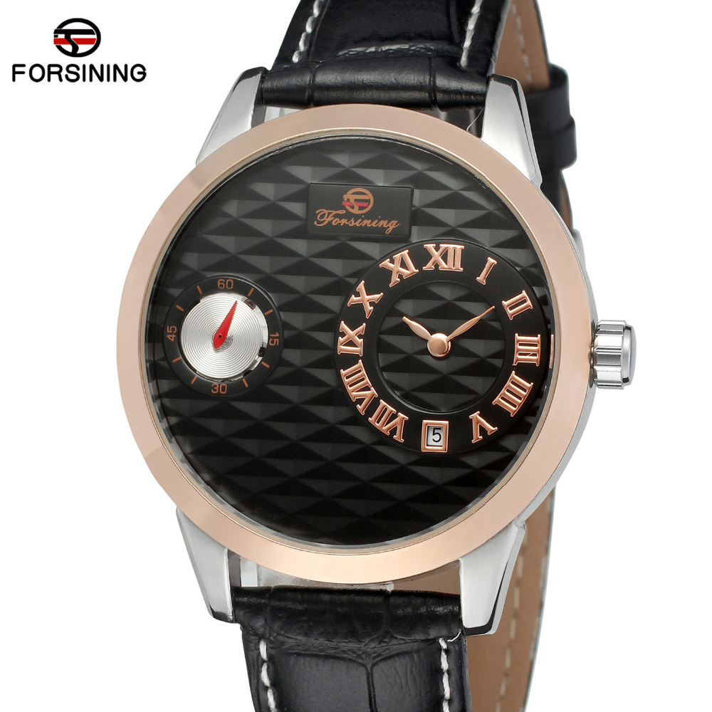 2017 Forsining Watches Men Top Luxury Brand Wristwatch Male Business Golden Case Clock Men's Watch Casual Gift Relogio Masculino new listing men watch luxury brand watches quartz clock fashion leather belts watch cheap sports wristwatch relogio male gift
