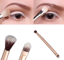 Hot Brand New Beauty  Pro Eyeshadow Blending Brush Eye Makeup Brushes Double-Ended Brush Professional Cosmetic Tool Cheap Z1S1