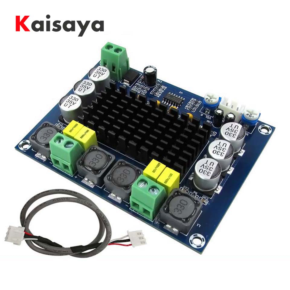 DC 12V 24V 120W*2 TPA3116D2 TPA3116 Dual Channel class D digital Power audio amplifier board C3-002