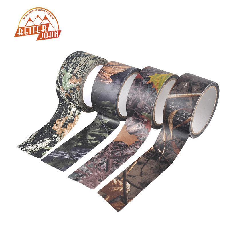 Bicycle Stickers Outdoor Sport Hiking Shooting Camping Hunting Bionic Adhesive Cotton Waterproof Camouflage Tape 10m x 5cm