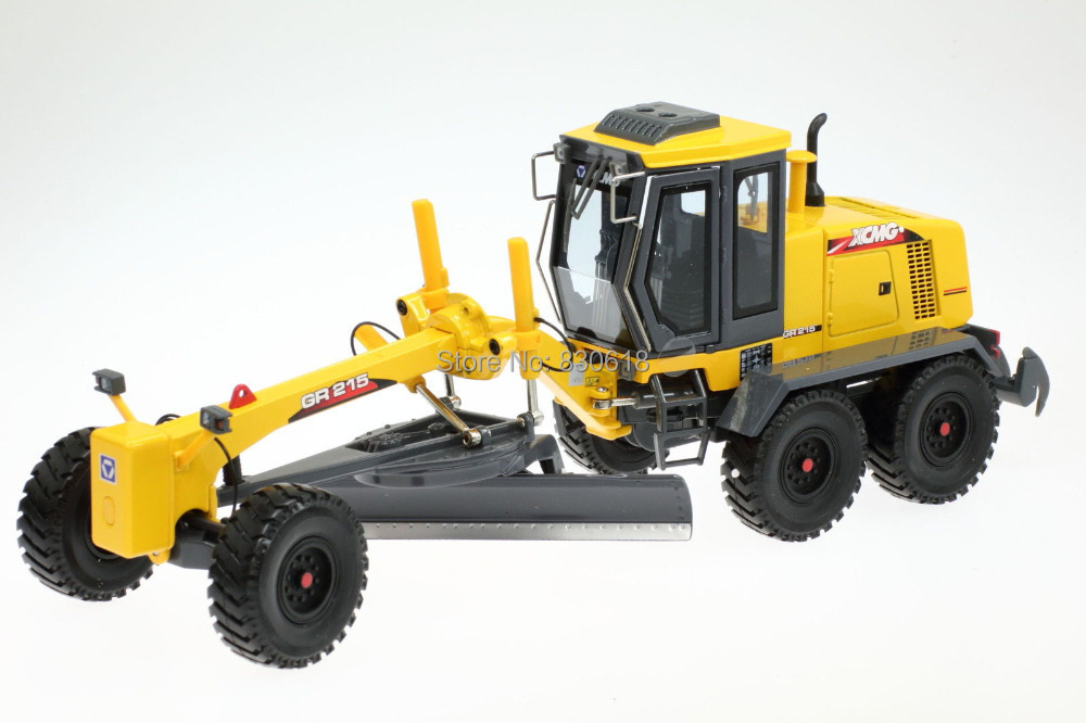 1/35 XCMG GR215 Grader Motor Diecast Model Construction vehicles Toy